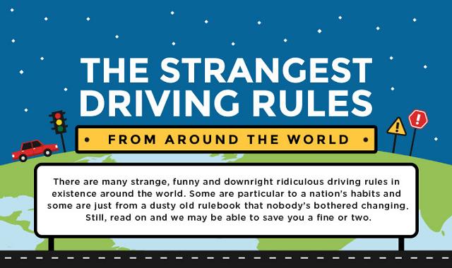 10 Weird Traffic Laws Around the World - Z&X Car Rentals