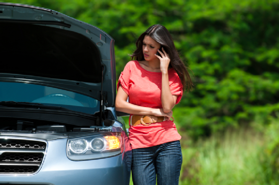 Car Rental's battery